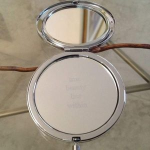 Philosophy engraved compact mirror NEW